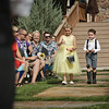 Ring bearer and flower girl procession