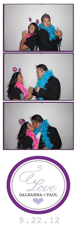 Daleanna & Paul Wedding September 22,2012