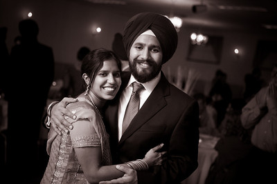 Daman and Nicole - Sangeet | B&W