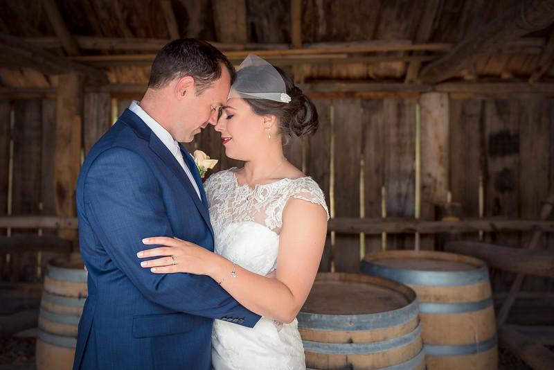 Damian & Amanda's Wedding - Portraits