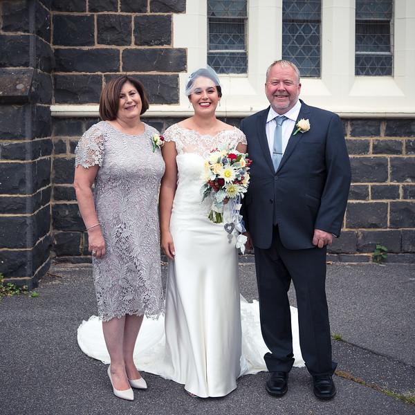 Damian & Amanda's Wedding - Family Photos