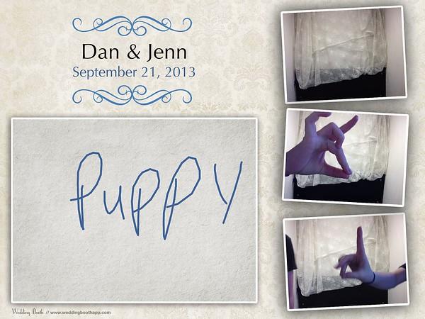 Dan & Jenn - Photo Booth