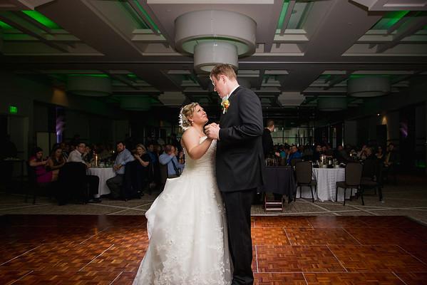 dana + eric | wedding | michigan state alumni chapel, kellogg center