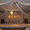 Fall colors- Dance Canopy with kissing ball and column tops in fall colors.  The dance canopy price includes lighted and tulle decorated head table, if desired.<br /> Maneeley's in South Windsor
