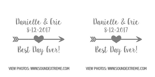 Danielle & Eric 8-12-17