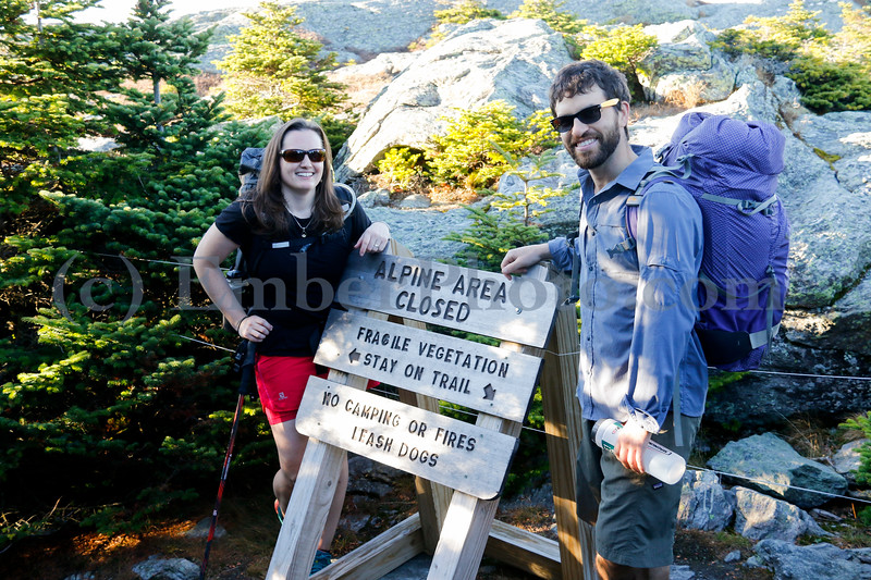 Danielle & Nick - Oct 5, 2017 - Camel's Hump, Vermont, USA<br /> <br /> ©Brian Mohr / EmberPhoto - All rights reserved