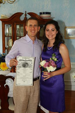 Danielle and Eric Wedding