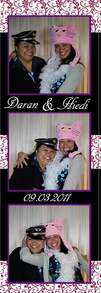Daran and Hiedi Wedding