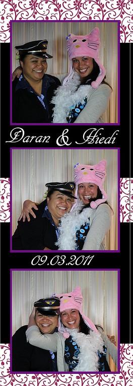 Daran and Hiedi Wedding