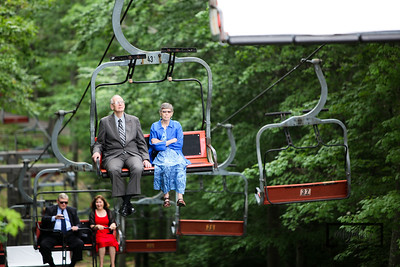 Chairlift up to the ceremony site at the Homestead Resort in Glen Arbor, Michigan  © Copyright m2 Photography - Michael J. Mikkelson 2009. All Rights Reserved. Images can not be used without permission.