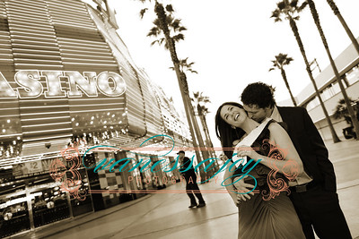 Darren and Kristin Get Engaged in Las Vegas 2009 01 13