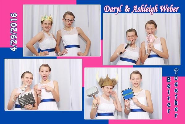 Daryl & Ashleigh Weber 4-30-2016