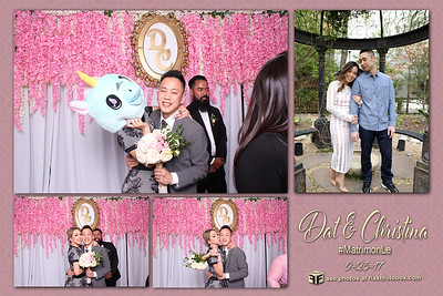 Dat & Christina Wedding - September 23, 2017