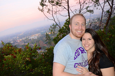Dave and Erin Engagement - Betty B. Dearing Trail - Studio City, CA - photos by Kait Mack