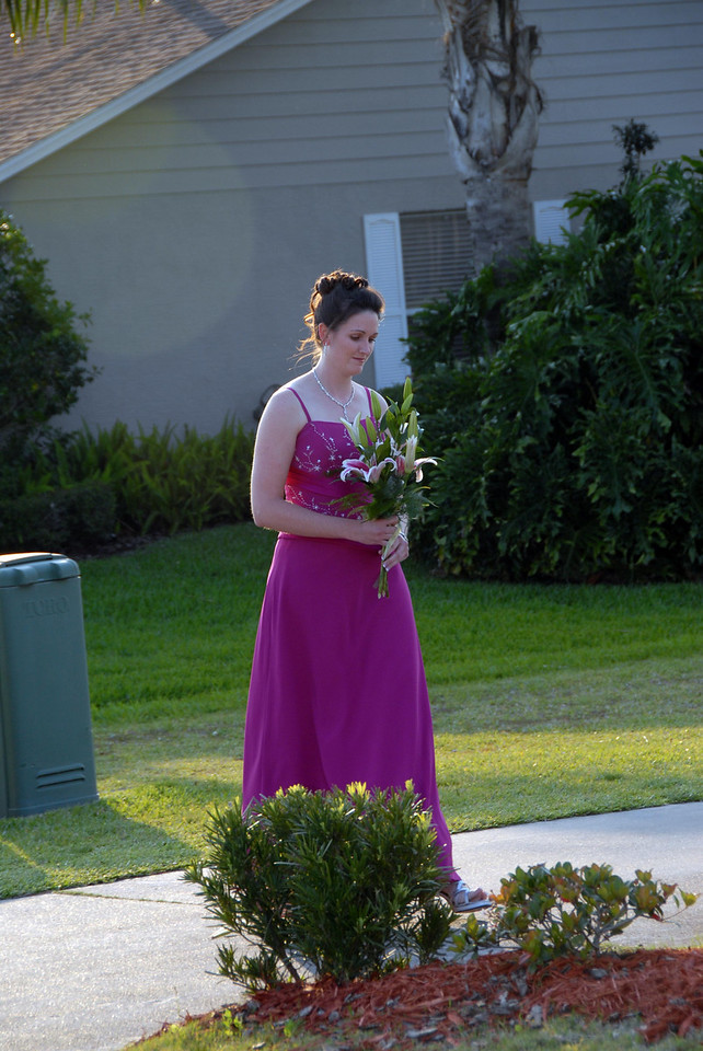 Enter the Maid of Honor.  As you can tell from the golden globe on the left I was pretty much shooting into the sun.