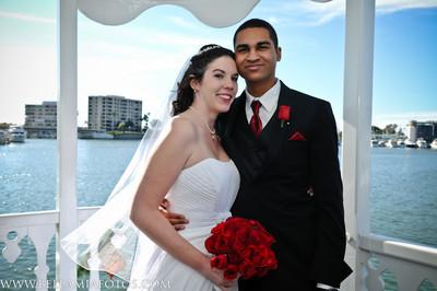 David + Megan / Wedding  /  Electra Cruises / Newport Princess / Newport Bay / Newport Beach