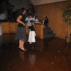 Morgan, Sydney and Rosie at the wedding reception