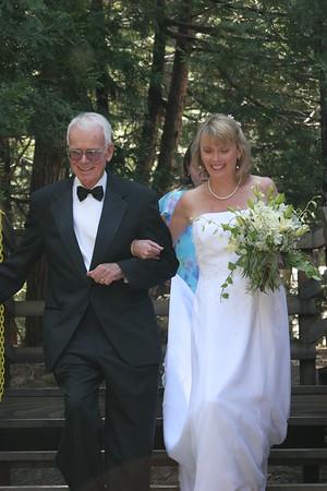 David and Carolyn at the Creek House