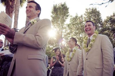 Gay wedding at City Hall