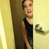 Scout's bathroom shot.
