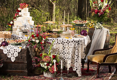 decadent tea party. Collaboration with Beyou-tiful designs