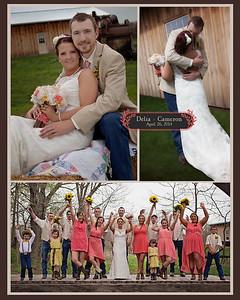Delia + Cameron Wedding