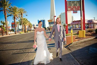 Mel & Richard tie the knot... Vegas Style!  Las Vegas, Nevada