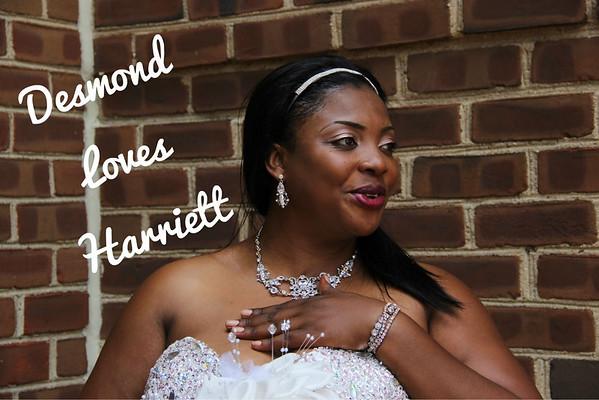 Desmond and Harriet Wedding Day 6/25/13