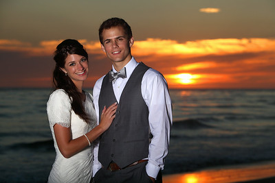 Brooke & Devin @ Carlsbad, Los Angeles Temple