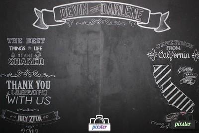 Devin & Darlene 7-27-13