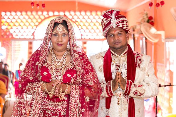 Diane & Vickash Wedding (Hindu Ceremony)