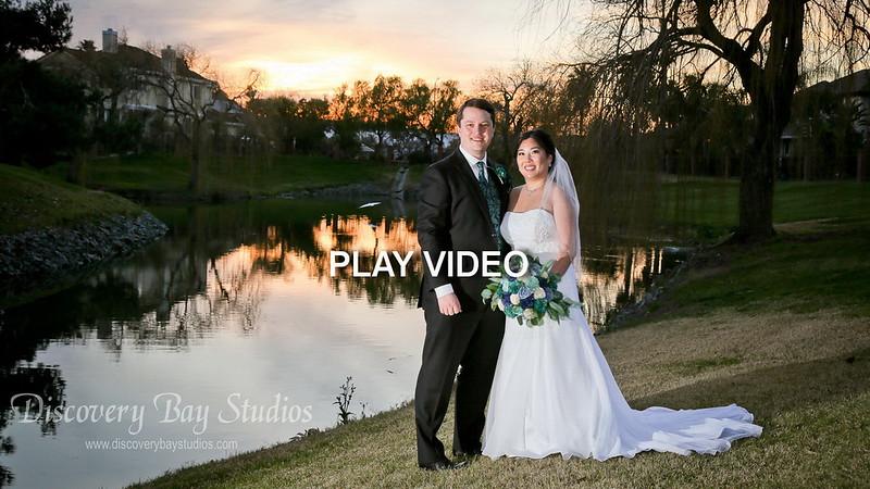PLAY VIDEO - Discovery Bay Country Club Wedding Christine & Jason