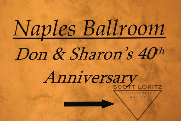 Don & Sharon's 40th Anniversary
