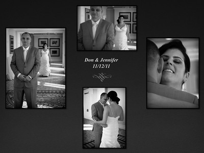 Don & Jen Porter Wedding 11/12/11
