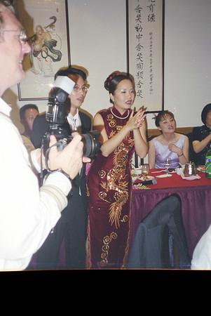Donald Wong's wedding