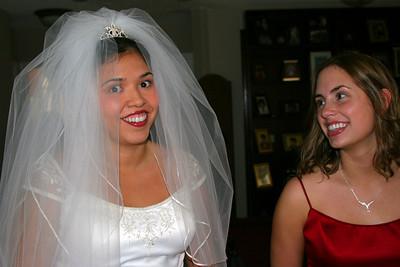 Gina and Catherine