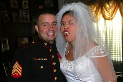 Brian and Gina. Thats hot.