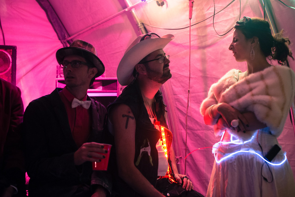 Donovan Allen and Amy Phillips Wedding at Burning Man 2013