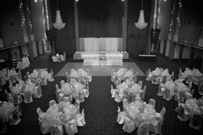 The wedding of Kellie and Matthew Downing at the South Pointe Banquet center in DeKalb, Illinois on September 3, 2011. (Jay Grabiec)