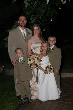 Dustin & Amy - August 17, 2007