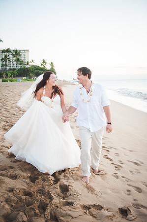 Dustin & Ashley    January 23, 2016    Maui, Hawaii