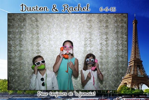 Duston & Rachel Wedding