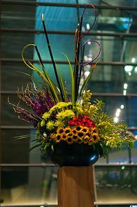 One of the beautiful arrangements that were everywhere throughout Aria