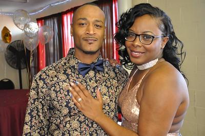 Earl & Shuwanda Dean Wedding Reception March 17, 2018