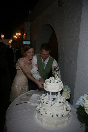 Ed & Kristin Wedding - Cake