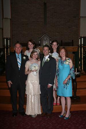 Ed & Kristin Wedding - Formals