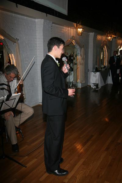 Ed & Kristin Wedding Toasts