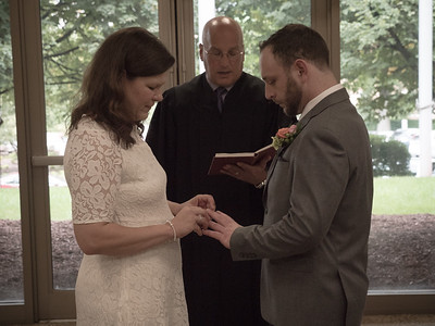 Meghan and Adam Ehrlichman wedding - October 2, 2018.