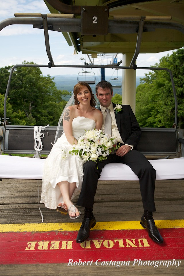 Wachusett Mountain wedding