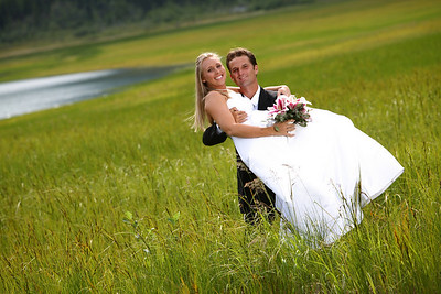 Eklutna Wedding: Leslie & Jeff by Joe Connolly